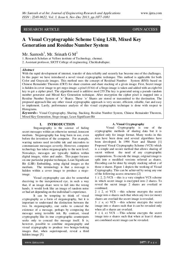 Mr.Santosh et al Int. Journal of Engineering Research and Applications ISSN : 2248-9622, Vol. 3, Issue 6, Nov-Dec 2013, pp...