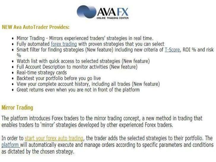 Forex mirror trading