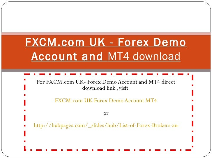 Forex account uk