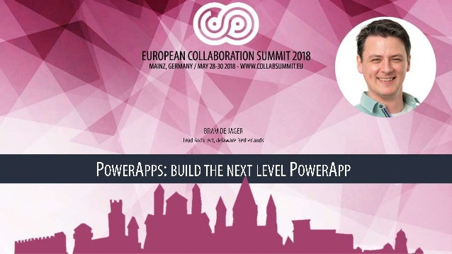 de Jager] PowerApps: Build The Next Level PowerApp