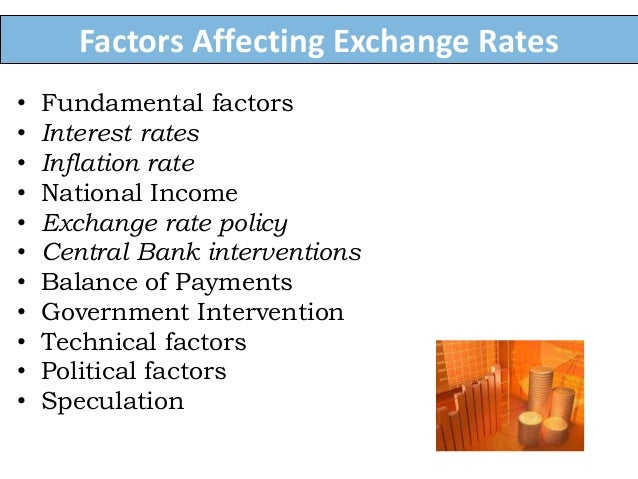 factors that influence exchange rates essay This theory focuses on the factors that determine the demand and supply of  personal computers in a free market the report has been.