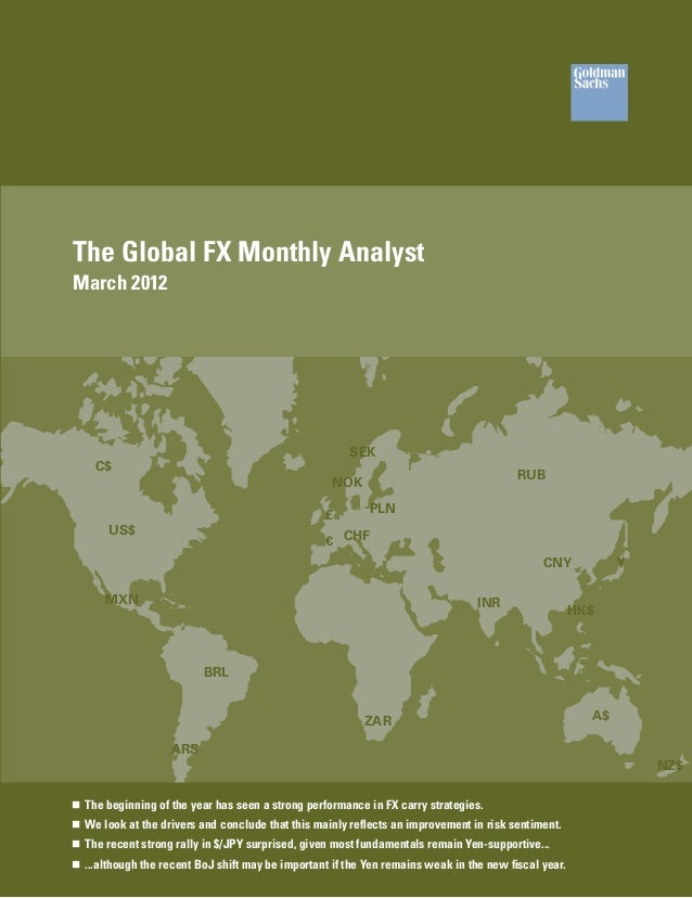 The Global FX Monthly AnalystMarch 2012                                                        SEK    C$                  ...