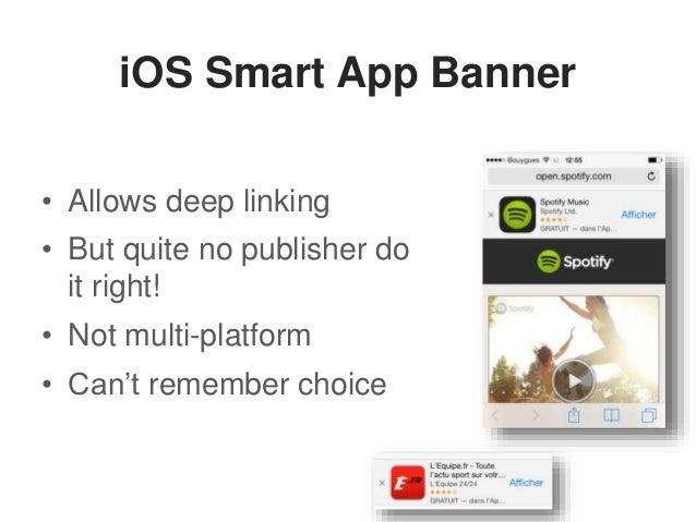 Deep linking at App Promotion Summit