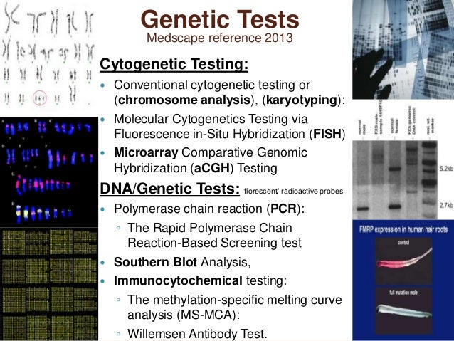 an analysis of genetic testing in determining symptoms and results of a genetic disorder Genetic testing is available to determine whether a pathogenic variant exists in a patient with clinical features of rett syndrome, or in a patient's family member.
