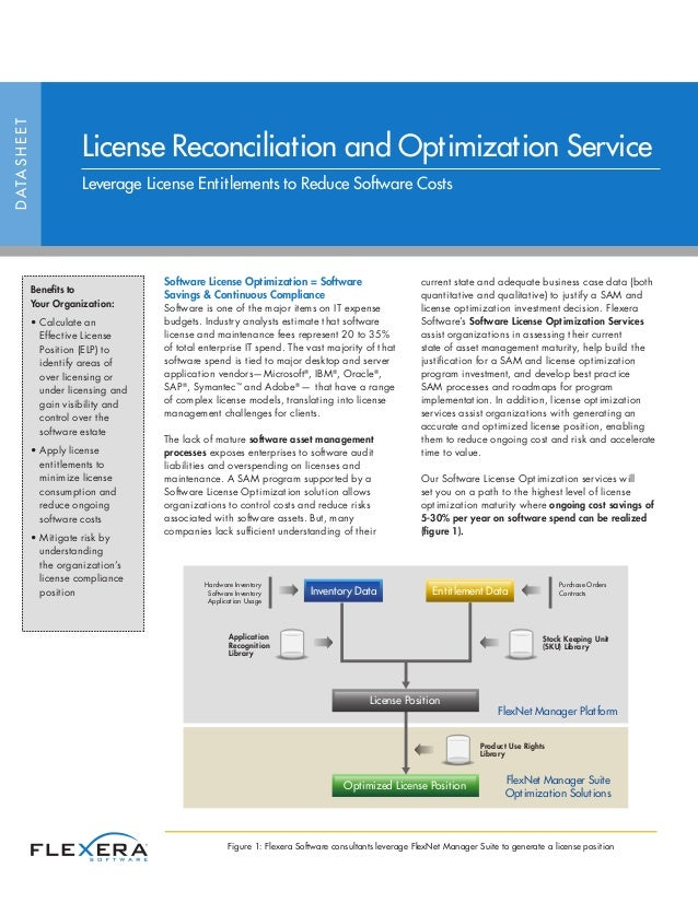 Software License Optimization Services and Solutions