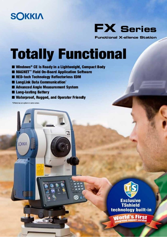 Totally FunctionalI Windows®CE is Ready in a Lightweight, Compact BodyI MAGNET™Field On-Board Application SoftwareI RED-te...