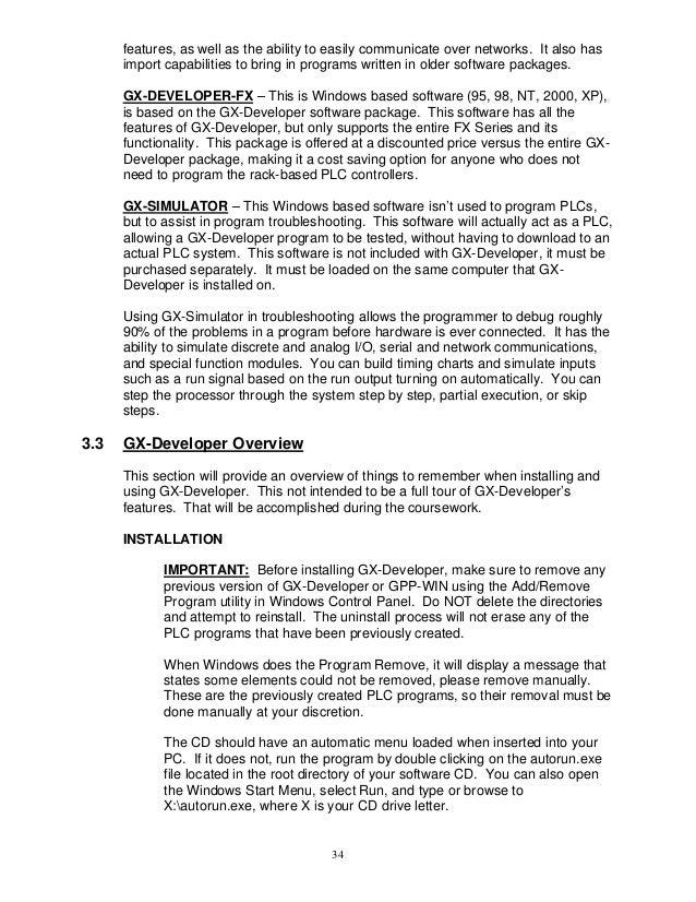 Fx training manual