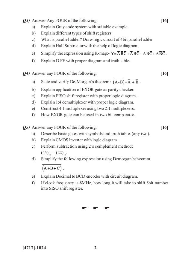 F Y B Sc 2013 Pattern  Old Question Papers Dr Kshirsagar