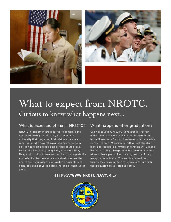 nrotc scholarship essay I am applying for the nrotc scholarship and would like any advice you have to offer on my two essay 1 discuss your reasons for wanting to become a marine officer.