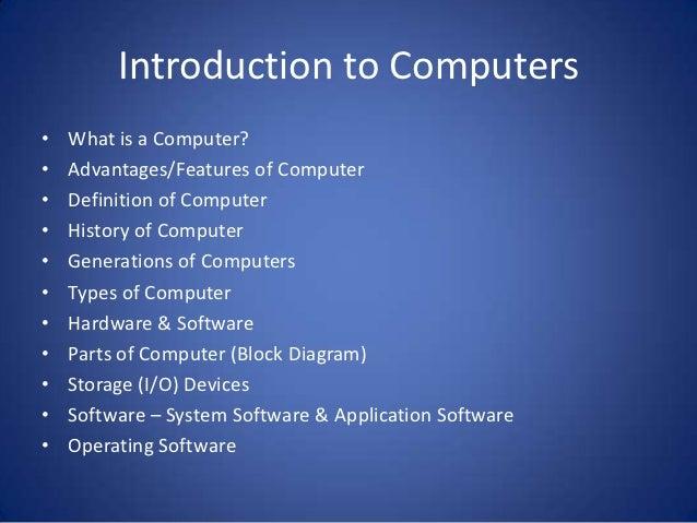Computer generations  authorstream.