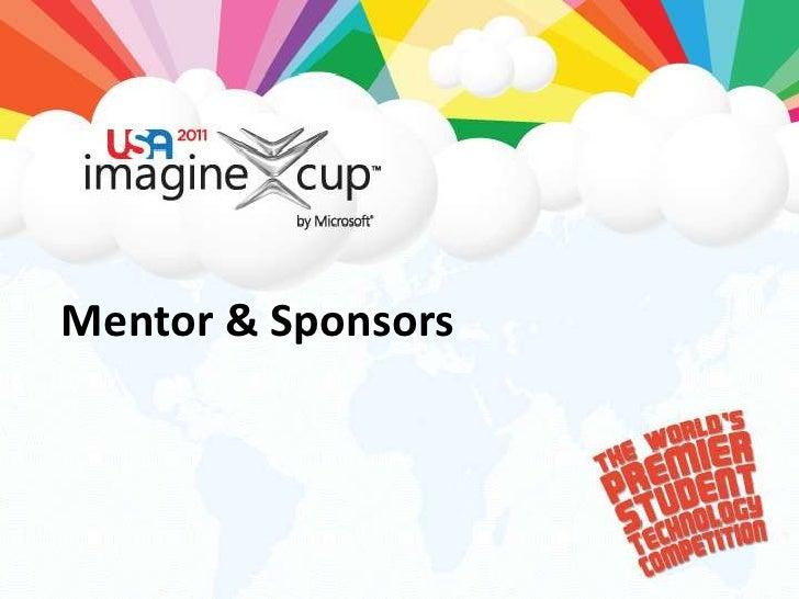 Mentor & Sponsors<br />