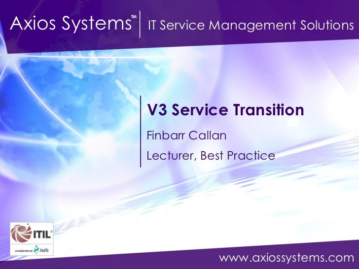 Itil practical guide service transition v3 service transition finbarr callan lecturer best practice pronofoot35fo Image collections