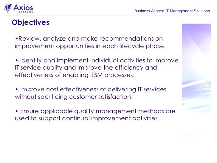 continuous service improvement plan template - source itil service improvement plan template excel