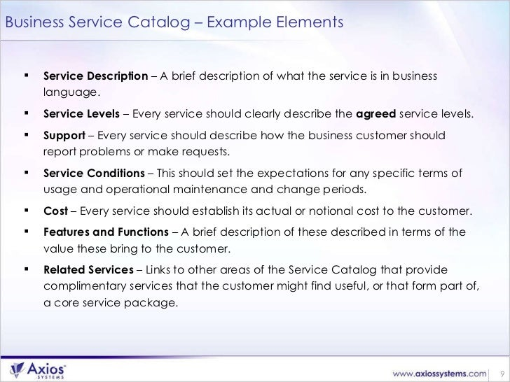 Successful Service Catalog Implementation