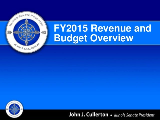 FY2015 Revenue and Budget Overview