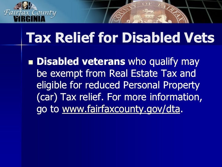Fairfax County Personal Property Tax >> 2013 Tax Facts: General Information about Fairfax County Taxes
