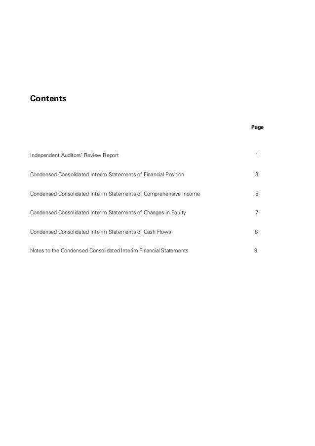 현대커머셜 연결영문보고서 Fy2014_3_q_final