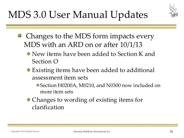FY 2014 Final Rule and MDS 3.0 Updates