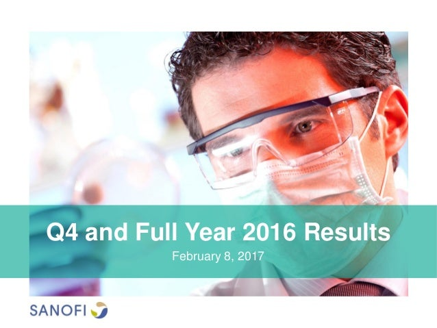 Q4 and Full Year 2016 Results February 8, 2017