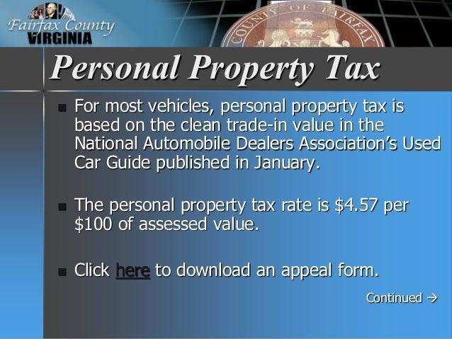 Virginia Car Tax >> Fy 2016 Tax Facts