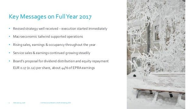 Full Year 2017 Results / Technopolis Plc Slide 2