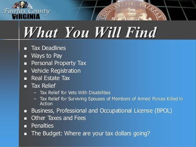 Virginia Property Tax Car >> Fy 2018 Tax Facts