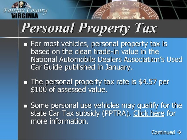 Virginia Car Tax >> Fy 2018 Tax Facts