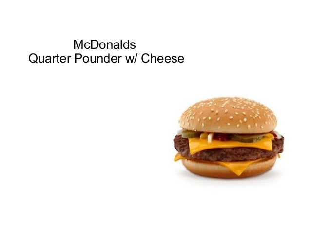 Fast food vs homemade the burger edition for Lean cuisine vs fast food