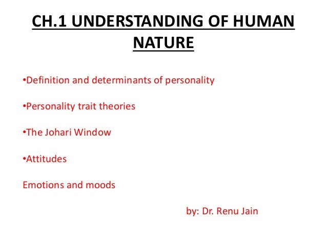 an understanding of human nature There is no human natureoutside human history  the impact of the concept of  culture on the concept of man, staked out an anthropological.