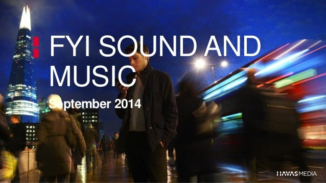 Feed your inspiration session of 25092014 dedicated to sound