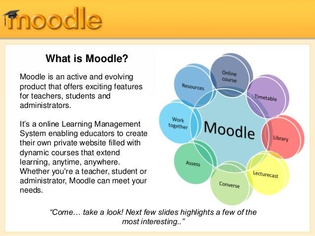 Moodle Learning Management System