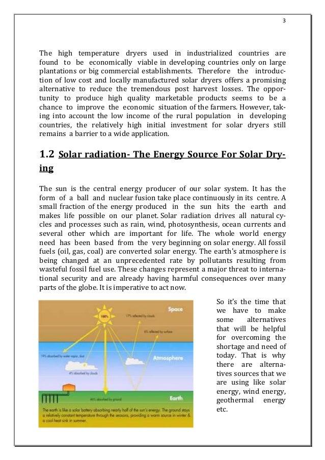design-fabrication-solar food dryer Slide 3