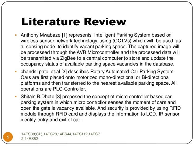 smart vehicle parking system