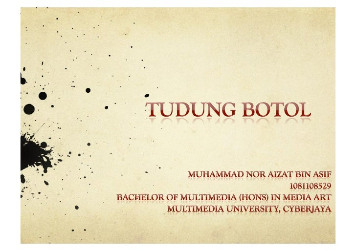 Title :     Tudung Botol Multi Touch Screen TableTheme :     Old Stories in New MediaBackground :     This an interactive ...