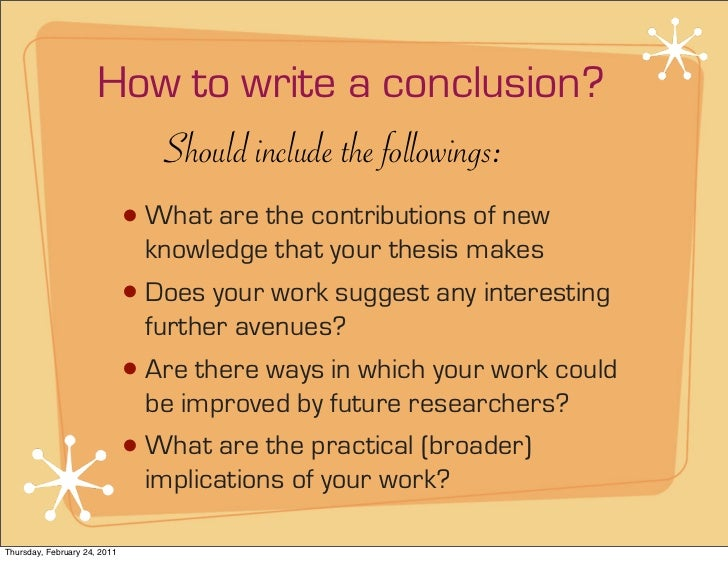 Writing a good thesis conclusion term paper literature