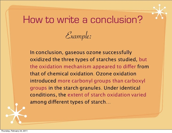 how to write a conclusion purdue owl