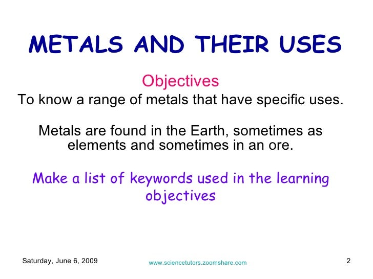 Metal reactions and uses for Everyday uses of tin