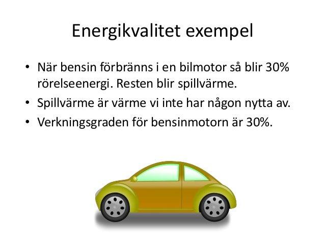 vad menas med energikvalitet