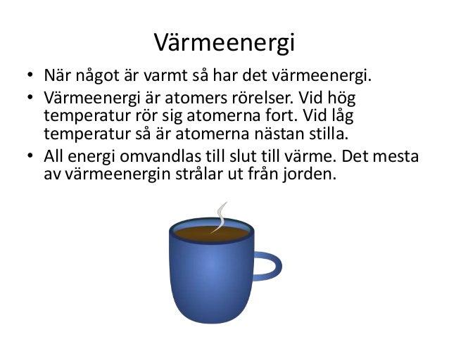 energi och värme