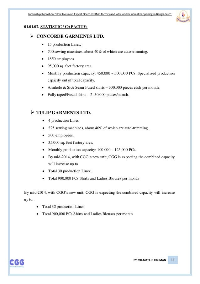 garments internship report View notes - 256128799-garments from fashion de 101 at national institute of  fashion technology uae internship report on.