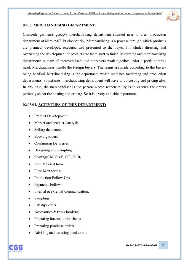 internship report on hr activities of garments factory at bangladesh Vietnam garment manufacturing industry report 2016 - in 2016, the minimum wage according to the report, about 50%-60% of the garment raw materials of vietnam depend on import and are considering that the quality of human resources in vietnam are universally higher than most.