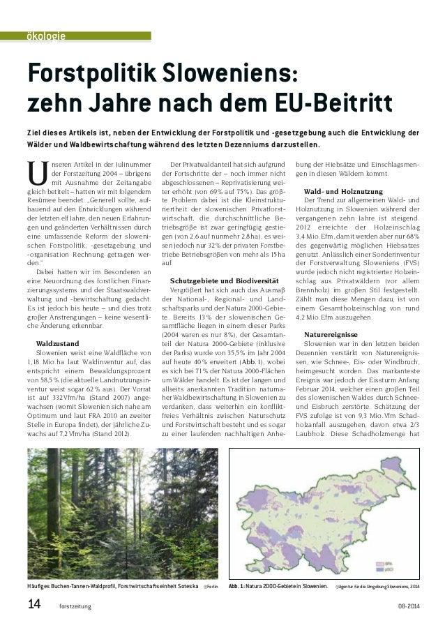 Unseren Artikel in der Julinummer der Forstzeitung 2004 – übrigens mit Ausnahme der Zeitangabe gleich betitelt – hatten wi...