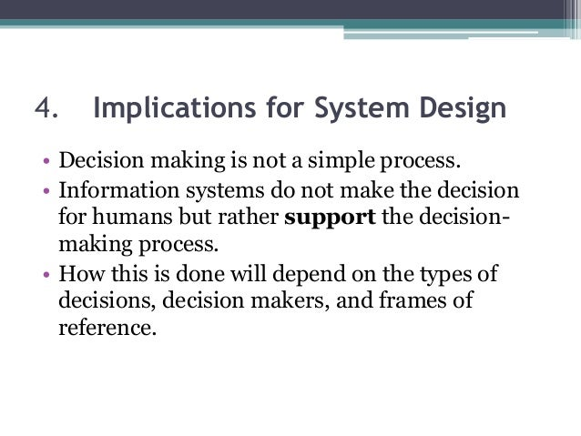 Decision Support Systems For Designers