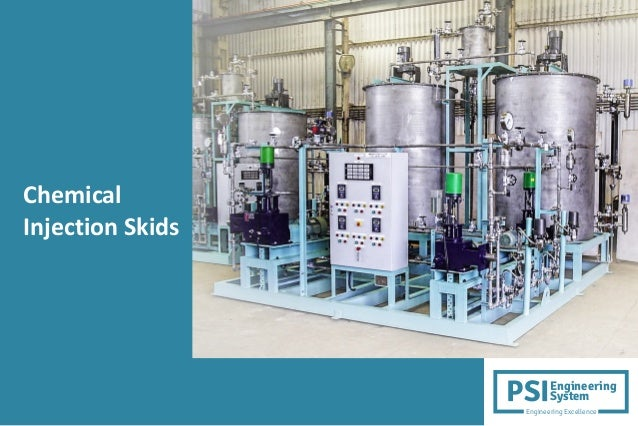 Chemical Injection Skids