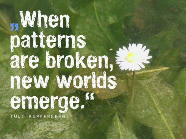 When patterns are broken by Flow_Zone