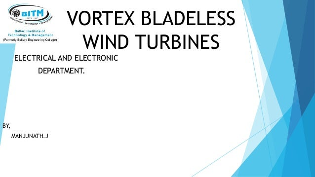 blade less wind turbine