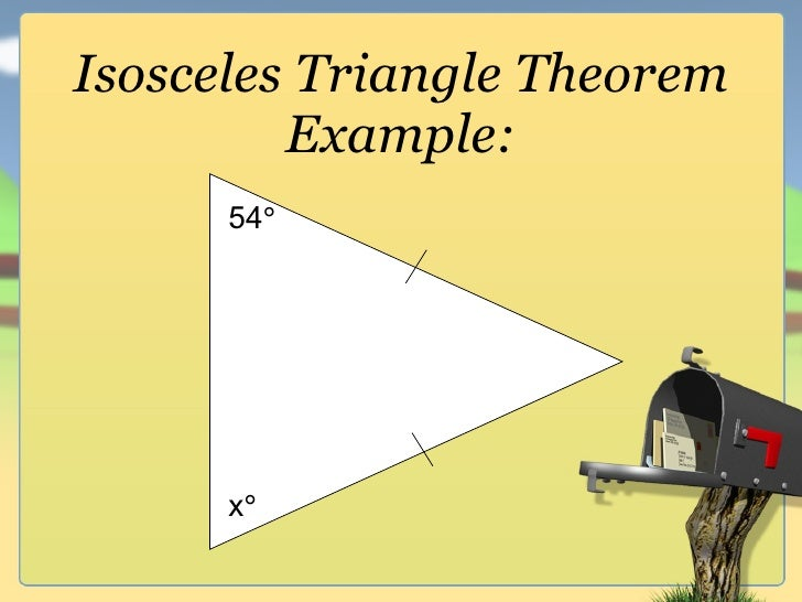 G.2 types of triangle and angles of triangles