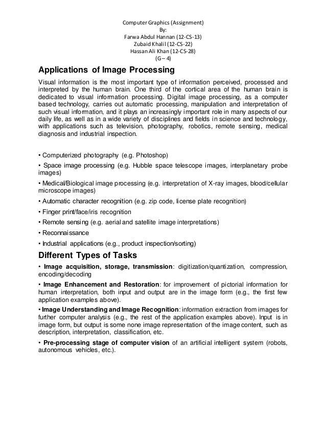 Computer Graphics (Assignment) By: Farwa Abdul Hannan (12-CS-13) Zubaid Khalil (12-CS-22) Hassan Ali Khan (12-CS-28) (G – ...