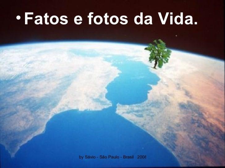 <ul><li>Fatos e fotos da Vida. </li></ul>