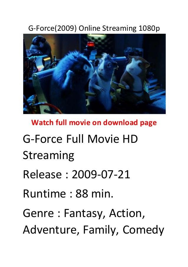 g force stream